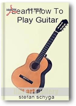 کتاب آموزش، Learn How To Play Guitar
