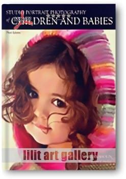 کتاب آموزشی، استودیو عکاسی پرتره کودکان و نوزادان