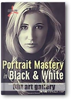 کتاب آموزشی، استاد پرتره در عکس های سیاه و سفید