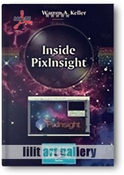 کتاب آموزشی، داخل PixInsight نرم افزار عکاسی از کهکشان