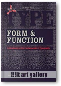 کتاب آموزشی، حروف، فرم و عملکرد