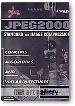 کتاب آموزشی، استاندارد فرمت JPEG2000 در فشردهسازی تصاویر