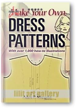کتاب آموزشی، الگوهای لباس خود را بسازید