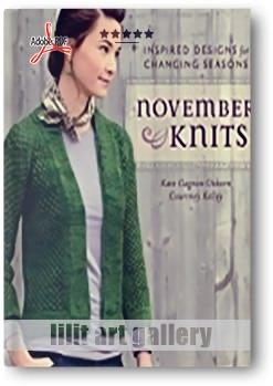 کتاب آموزشی، بافتنی نوامبر (طرحهای الهامبخش برای تغییر فصل)