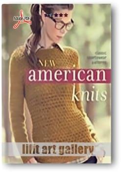 کتاب آموزشی، بافتنیهای آمریکایی جدید