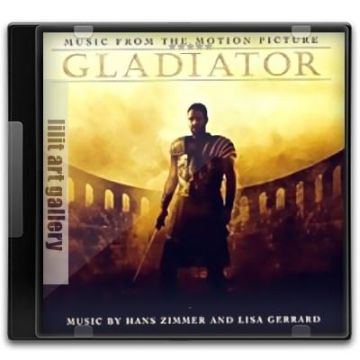 """آلبوم موسیقی، فیلم گلادیاتور از """"هانس زیمر"""" Hans Zimmer – 2001 – Gladiator"""