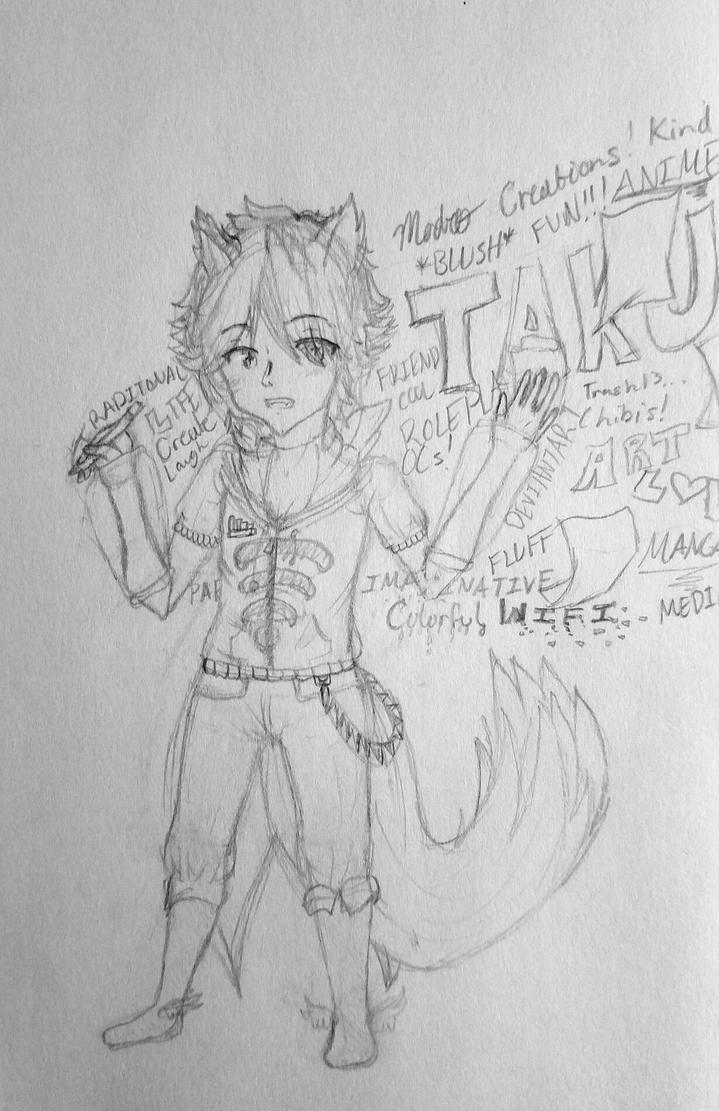 Otaku's Traits    Ten Sketches  by Madro333