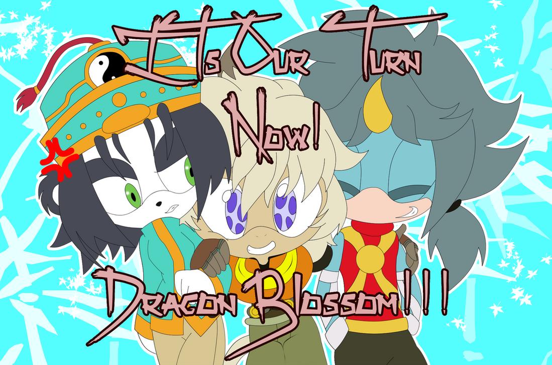 Dragon Blossom Trio by ToTo088
