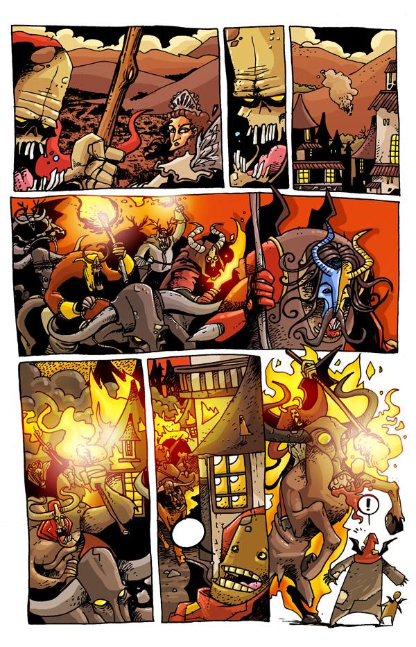 El Maizo la Maldicion page10 by AugustoMora