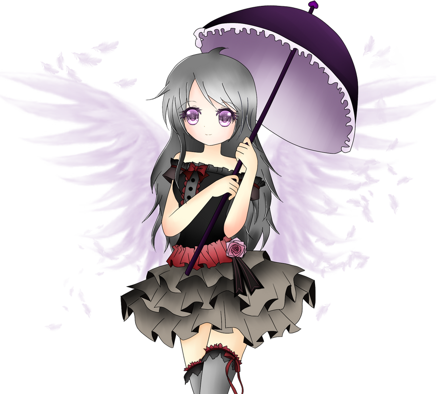 Miyuki's Angelic Parasol by Ririchiiyo