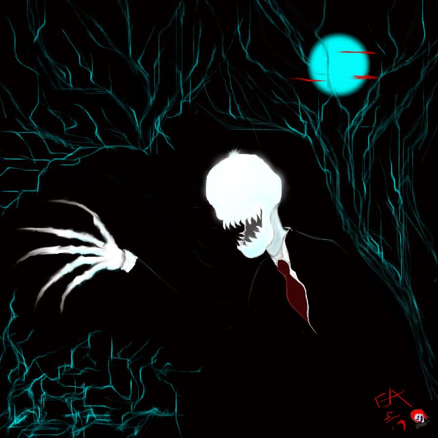 Slenders Stalking by eddieblz