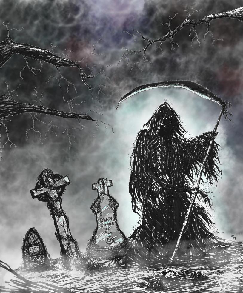 Grims Graveyard 1 by eddieblz