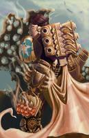 Steampunk Superhero by NVPStudios