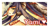 Yami Fan Stamp by CloverDoe
