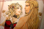 ::Commish:: Brooke + Sven for Fufu by CloverDoe