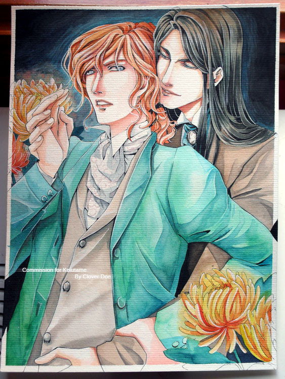 ::Commish:: Valentin + Louis for Koiutame by CloverDoe