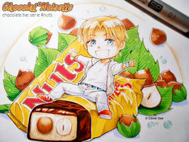 Chocolate Bar Serie :: NUTS :: by CloverDoe