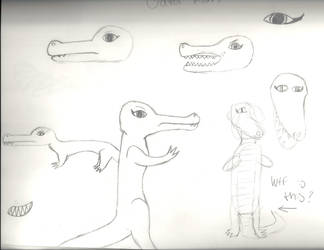 Gator Mom Doodles by Mudfire4