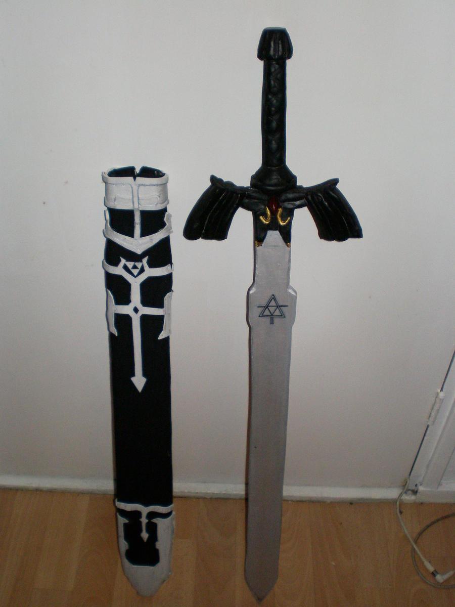 cosplay   master sword sheath by meredith de drac on deviantart