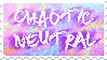 chaotic neutral stamp
