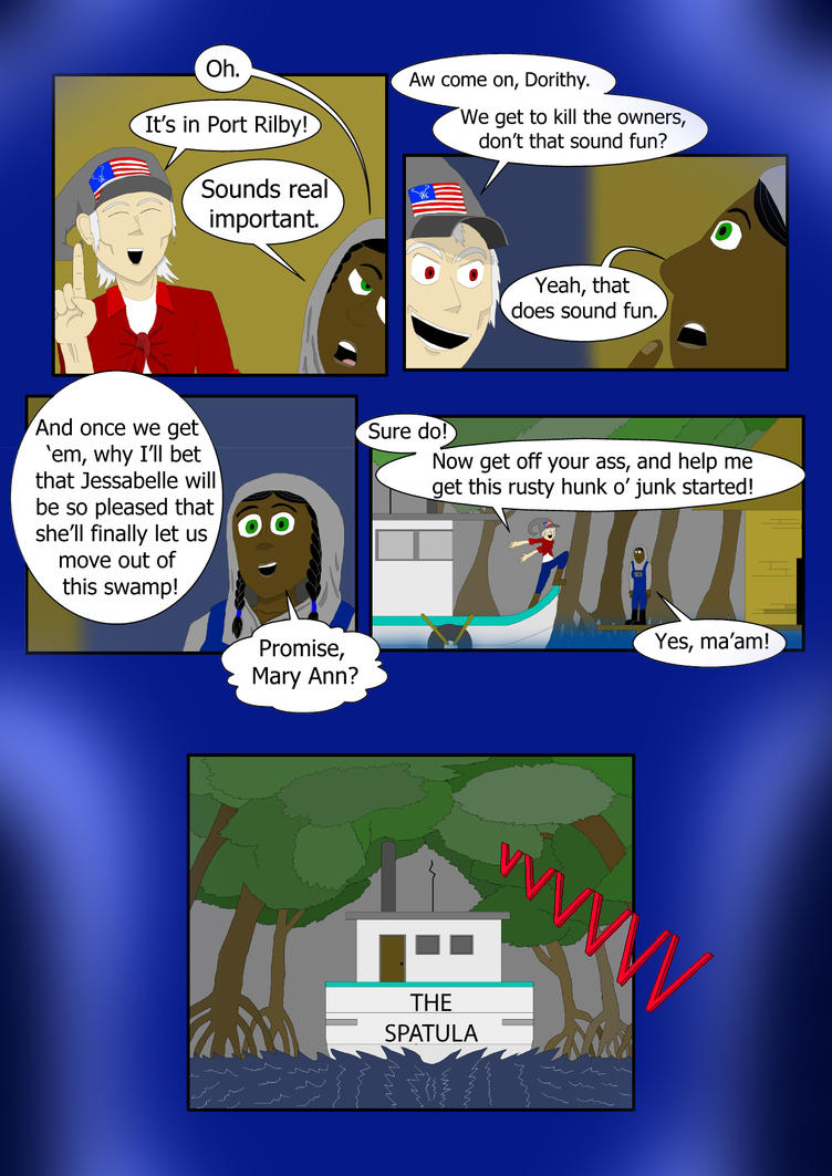 The Clam Hare page 66 by StephenHaag
