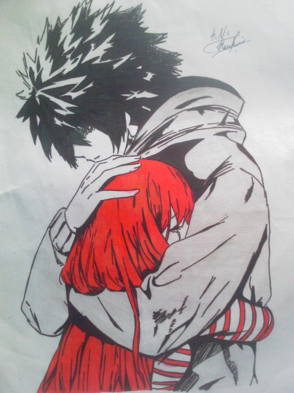 Old Drawing Random Anime By Kuyomi01 On Deviantart