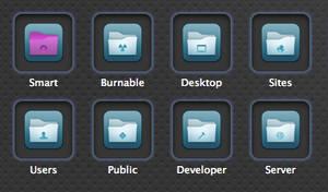 Flurry Folder Icons for Mac