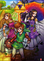The Legend of Zelda - A Link between Worlds by Rebe-chan-vk