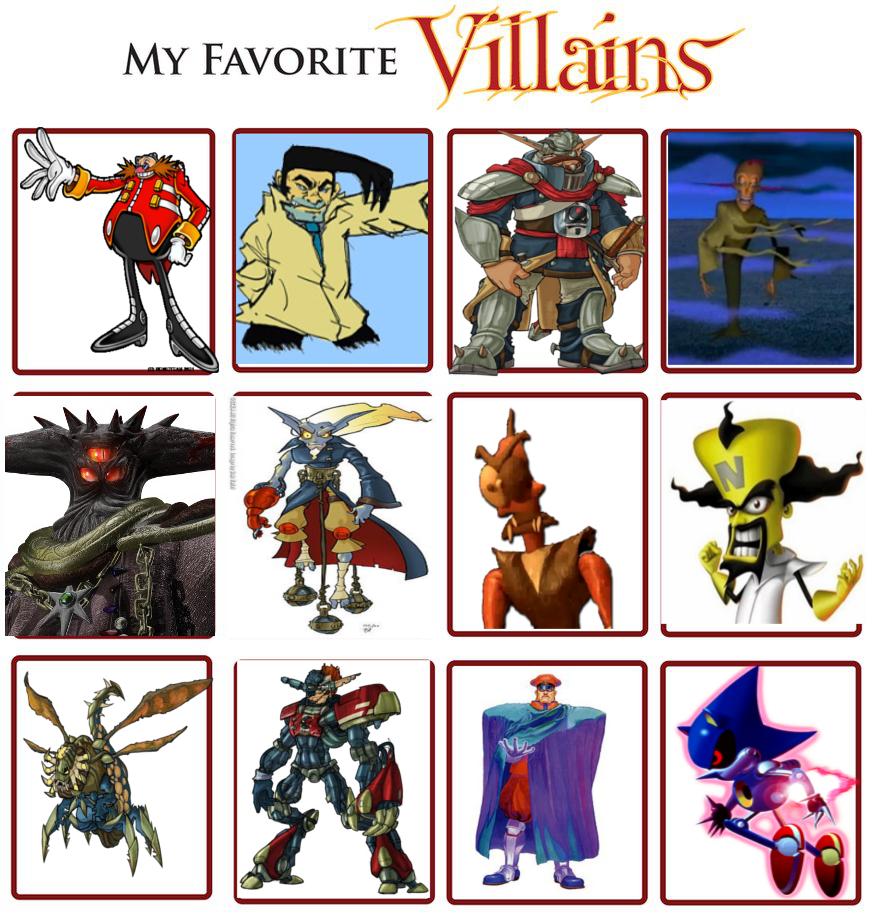 Favorite Villain Meme By DrEarthwormRobotnik On DeviantArt