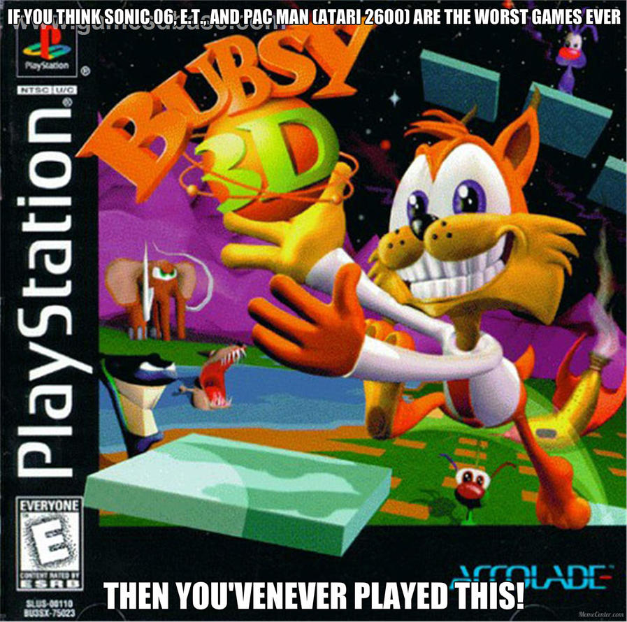 Bubsy The Cat Game