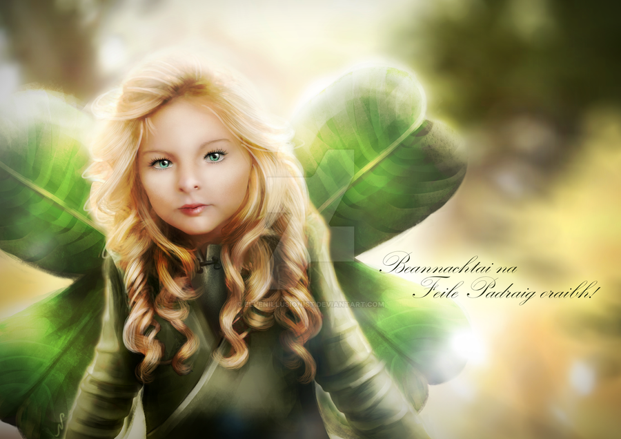 Clover Fairy St Patrick S Day 2015 By Elvenillusionist