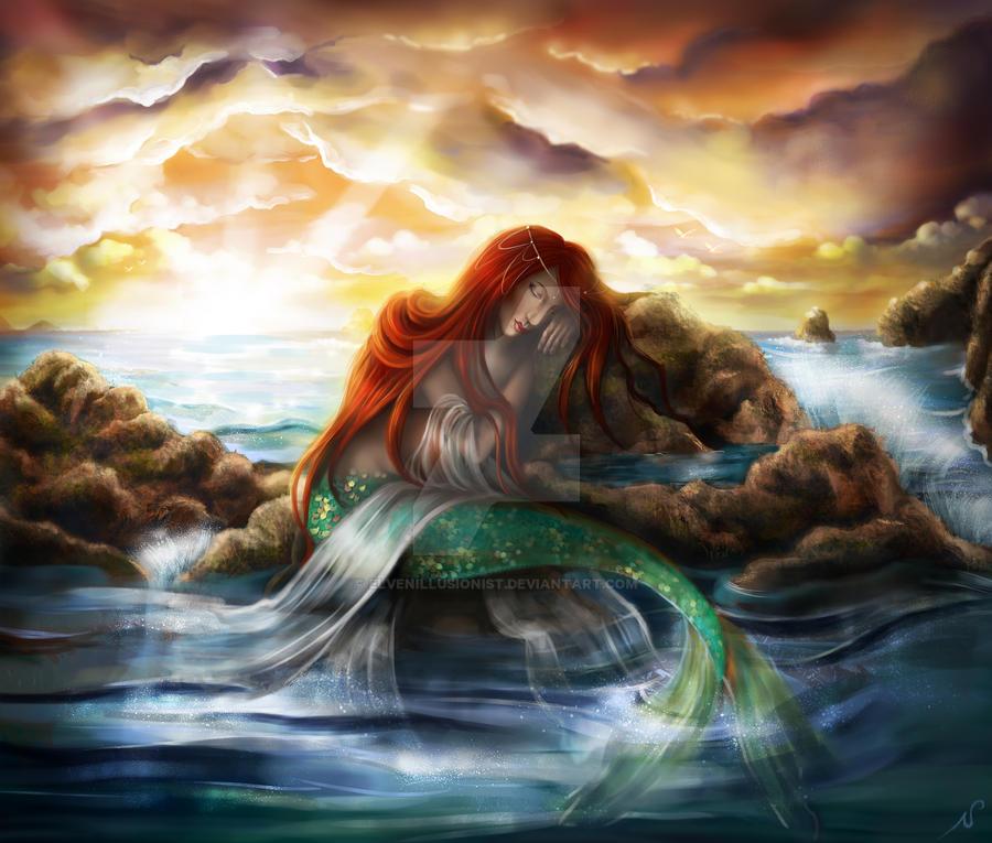 Sleeping Siren by ElvenIllusionist