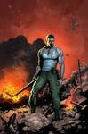 Nick Fury Cover