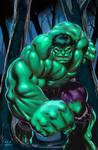 Hulk Digital Painting