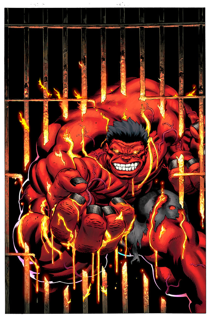 FALL OF THE HULKS: RED HULK 2 by SotoColor