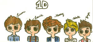 one direction by alexaride