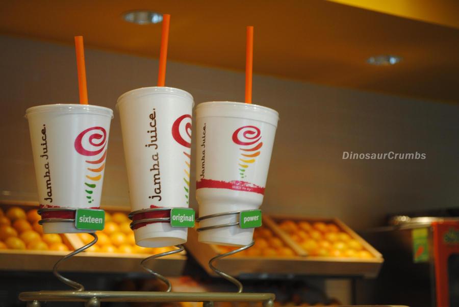 Jamba Juice Drink Sizes