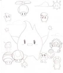 Super Mario Galaxy by takokun