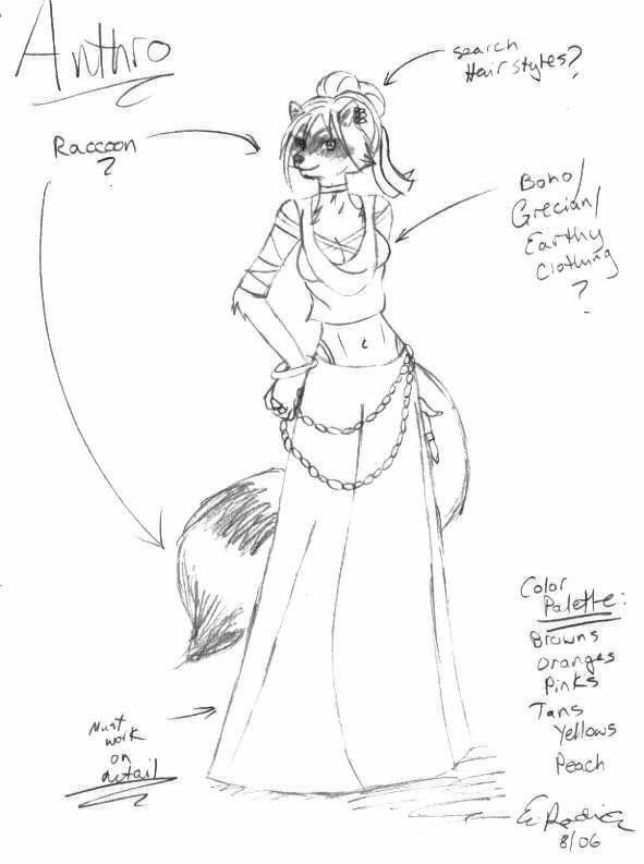 Racoon Anthro by  Raccoon Anthro