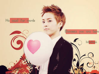 XiuMin/MinSeok-And ballon