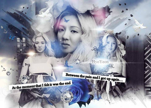 HyoYeon-Between the pain and end...