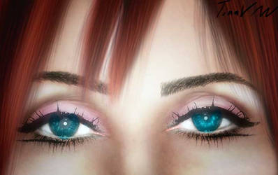 Look Into My Eyes by LingTina