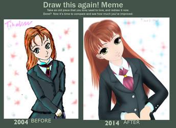 Draw This Again: School Girl