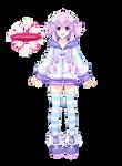 MegaDimension neptunia VII Neptune Render