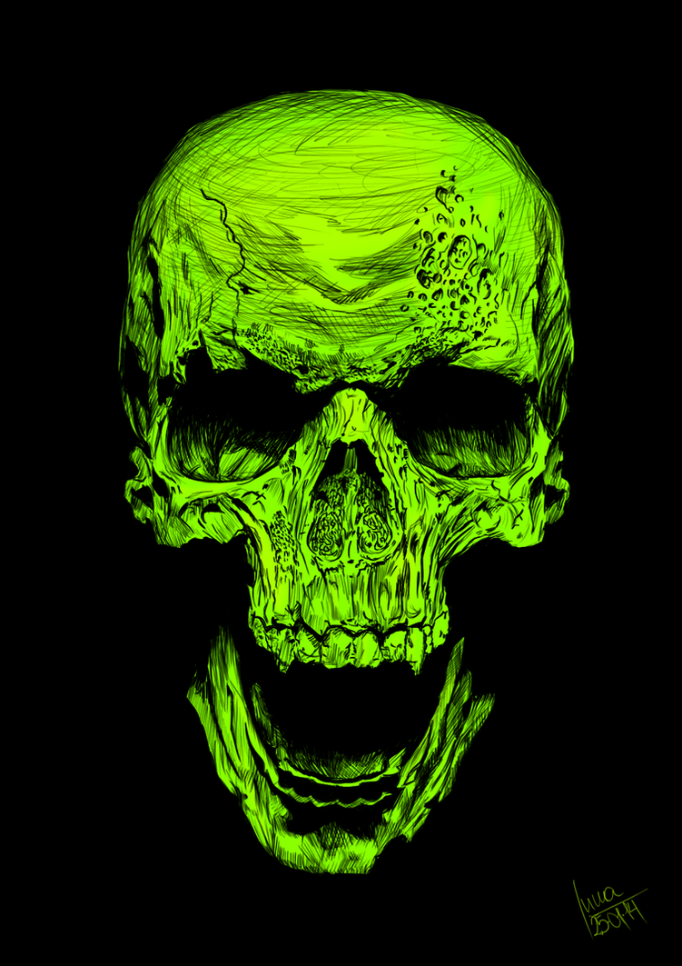 radioactive logo wallpaper