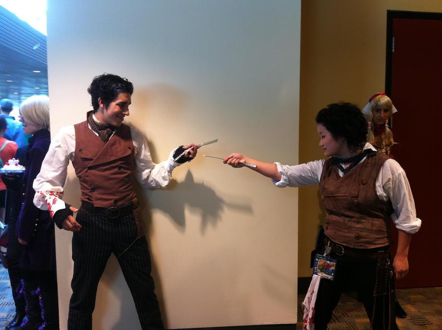 Otakon 2011- Sweeney Battle by SweeneyT-DemonBarber