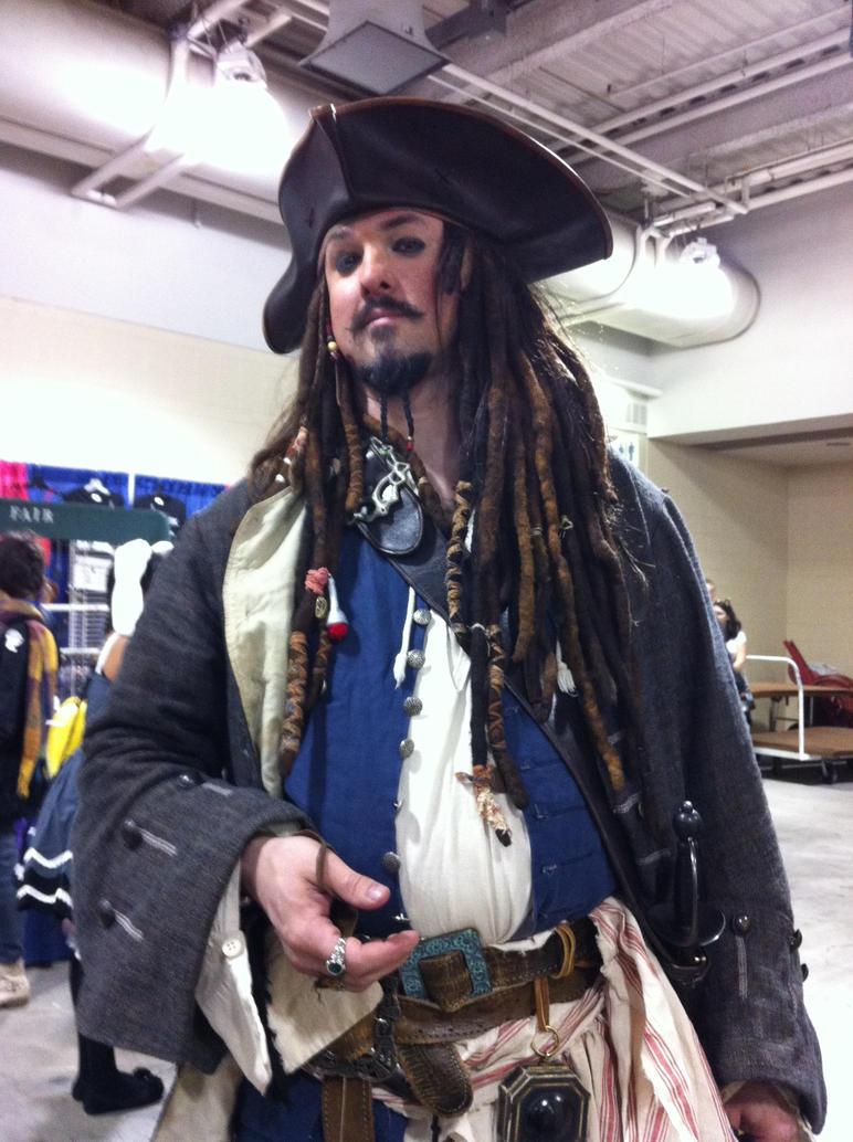 Anime Boston 2012- Tall Jack Sparrow by SweeneyT-DemonBarber