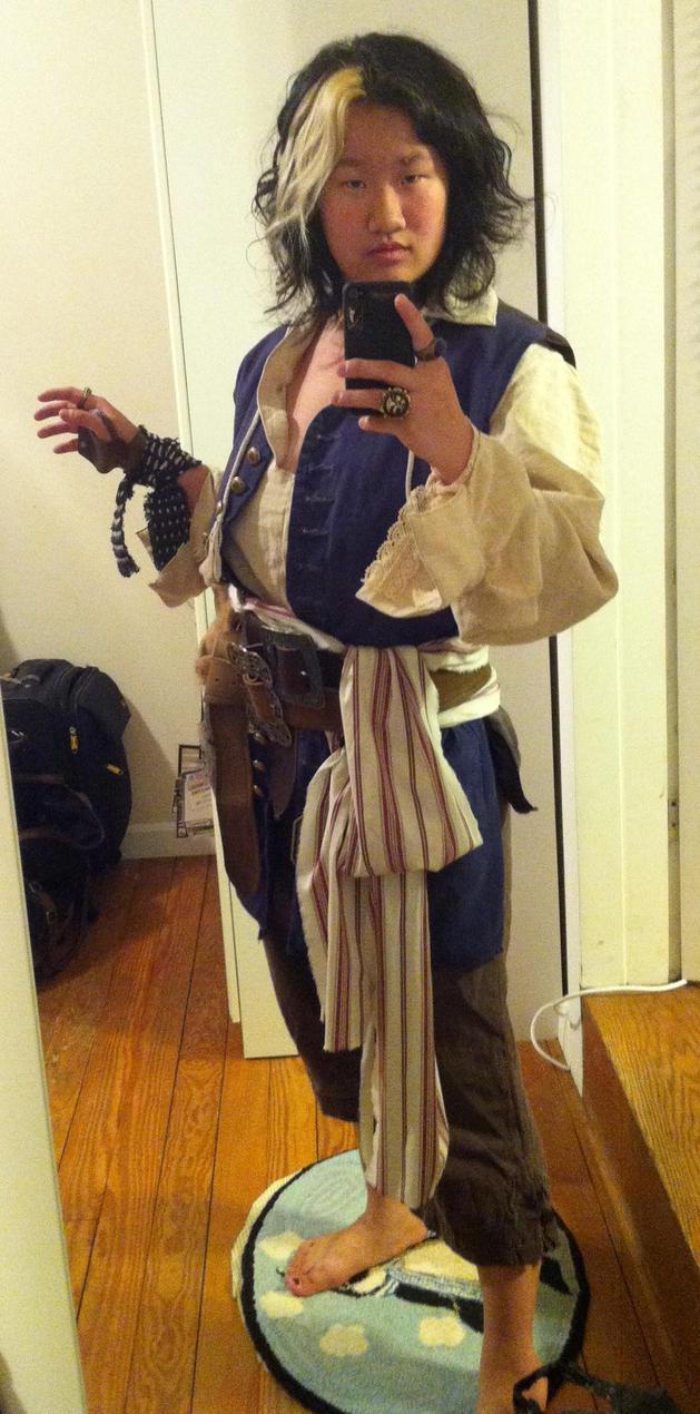 Jack Sparrow TEST 2 by SweeneyT-DemonBarber