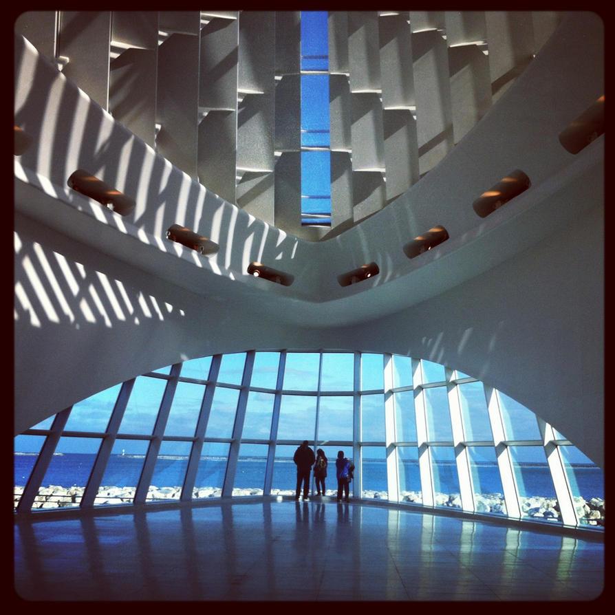 Milwaukee Art Museum by SweeneyT-DemonBarber