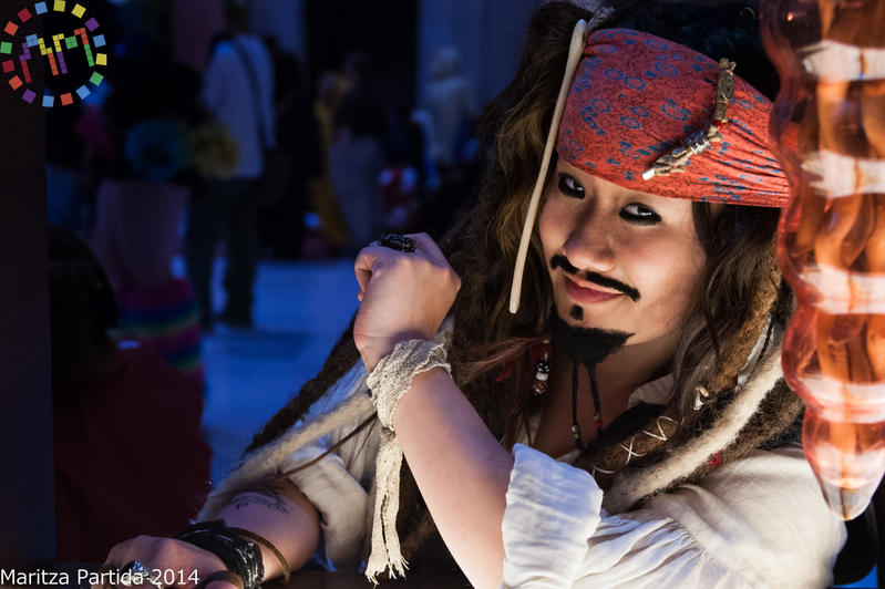 Capt. Jack Sparrow at Anime Midwest by SweeneyT-DemonBarber